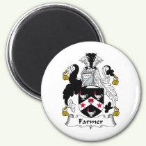 Farmer Family Crest Magnet