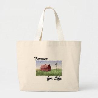 Farmer for Life Canvas Bags