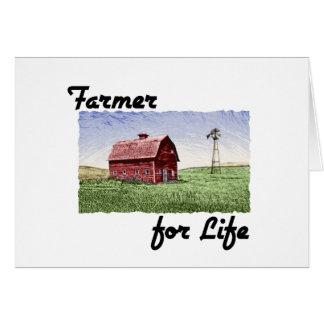 Farmer for Life Card