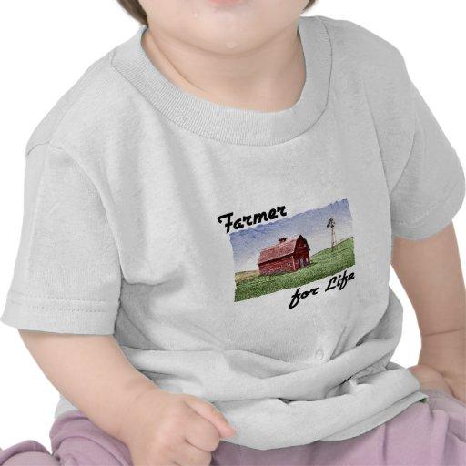 Farmer for Life Tee Shirts