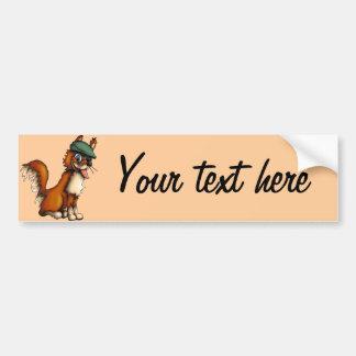 Farmer Fox, bumper sticker