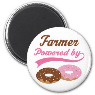 Farmer Funny Gift Fridge Magnet
