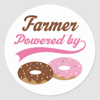 Farmer Funny Gift Stickers