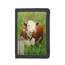 Farmer Henry's Cow Trifold Wallet