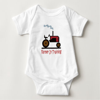 Farmer In Training Baby Bodysuit