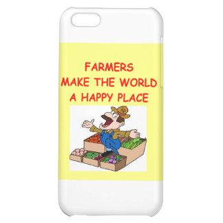 farmer iPhone 5C cover