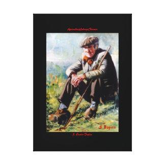 Farmer/Labrego/Farmer Canvas Print