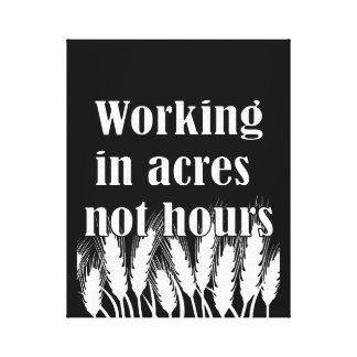 Farmer Life - ratio Canvas Print