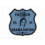 Farmer Obama Nation Postcard