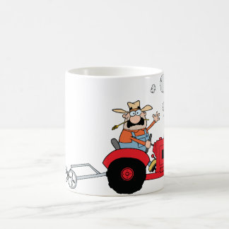 Farmer On A Tractor Mug