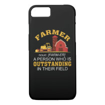 Farmer Person Who Is Outstanding Field iPhone 8/7 Case
