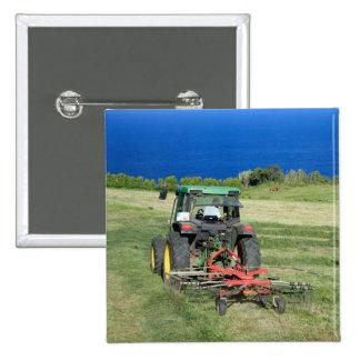 Farmer Pinback Button