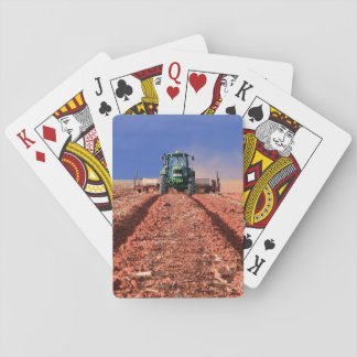 Farmer Planting Maize Using Tractor, Vaalkop Playing Cards