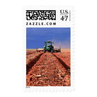 Farmer Planting Maize Using Tractor, Vaalkop Postage