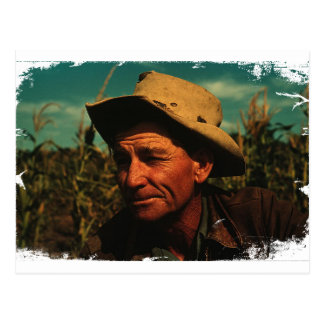 Farmer Postcard