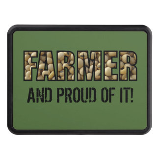 Farmer & Proud of it Hitch Cover