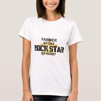 Farmer Rock Star by Night T-Shirt
