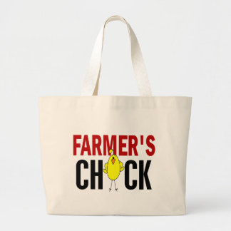 Farmer's Chick Canvas Bags
