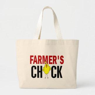 Farmer's Chick Canvas Bags