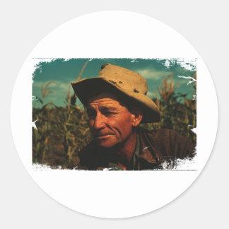 Farmer Sticker