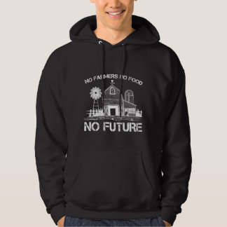 Farmer Support Proud Agriculture Food Farming Hoodie