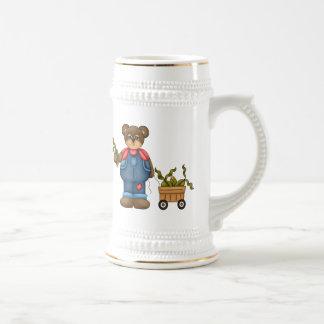 Farmer Teddy Bear Mug