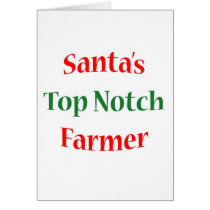 Farmer Top Notch Card