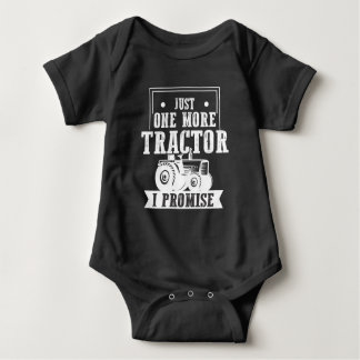 Farmer Tractor addict Trucker Agriculture Farming Baby Bodysuit