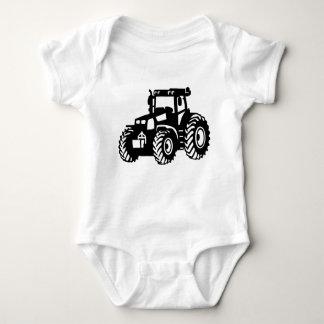 Farmer Tractor Baby Bodysuit
