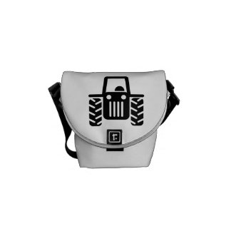 Farmer tractor messenger bags
