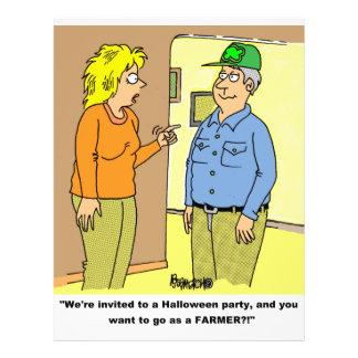 FARMER WIFE & HUSBAND FLYERS