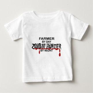 Farmer Zombie Hunter T Shirt