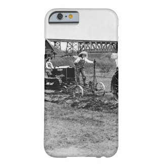 Farmerettes guiding tractors._War image Barely There iPhone 6 Case
