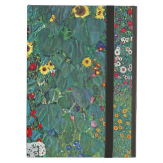 Farmergarden w Sunflower by Klimt, Vintage Flowers iPad Air Case