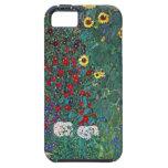 Farmergarden w Sunflower by Klimt, Vintage Flowers iPhone SE/5/5s Case