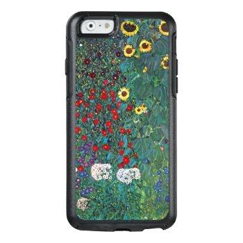 Farmergarden W Sunflower By Klimt  Vintage Flowers Otterbox Iphone 6/6s Case by MasterpieceCafe at Zazzle