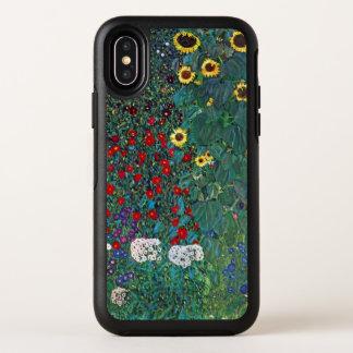 Farmergarden w Sunflower by Klimt, Vintage Flowers OtterBox Symmetry iPhone X Case