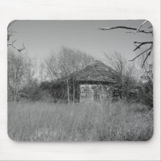Farmers Abandoned Home At Palacios In Texas Mouse Pad