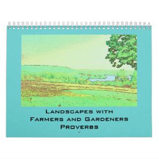 farmers and gardeners proverbs calendar