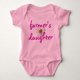 Farmer's daughter, baby, infant baby bodysuit