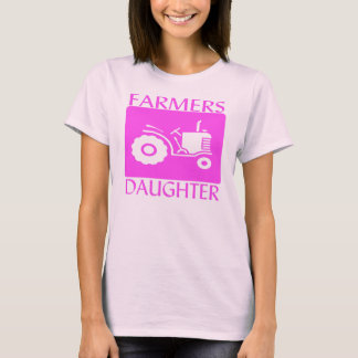 Farmers Daughter  Pink T-Shirt