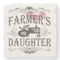 Farmer's Daughter Stone Coaster