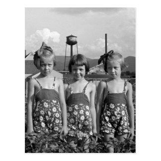 Farmer's Daughters, 1939 Postcard