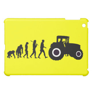 Farmers Evolution of Farming Farm Tractor Drivers iPad Mini Cover