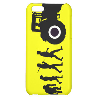 Farmers Evolution of Farming Farm Tractor Drivers iPhone 5C Cases