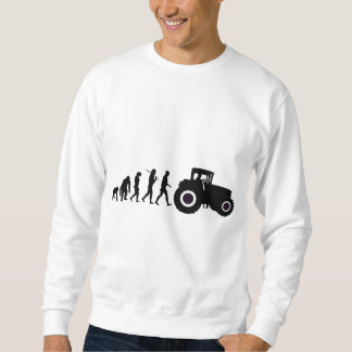 Farmers Evolution of Farming Farm Tractor Drivers Sweatshirt