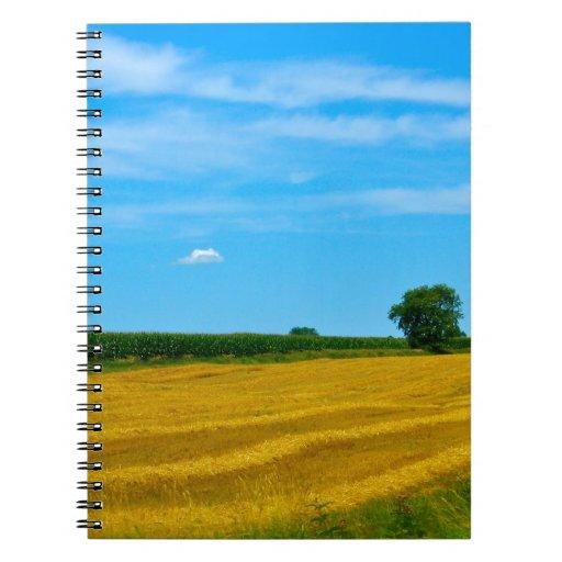 Farmers Field Spiral Note Books