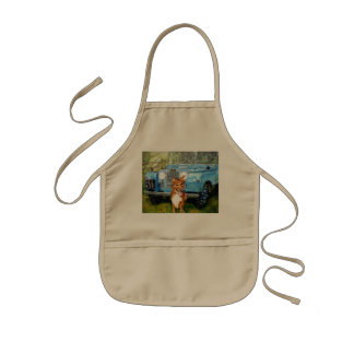 """Farmers Friends"" Kids' Apron"