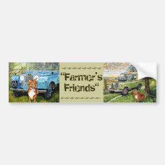 Farmer's Friends...Sticker Bumper Sticker