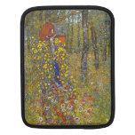 Farmers garden with crucifix by Gustav Klimt iPad Sleeves
